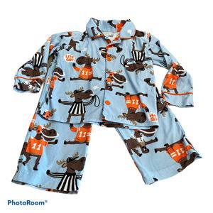 Jumping Beans 2T Moose Pajama Set